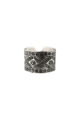 Hill Tribe Adjustable Silver Ring