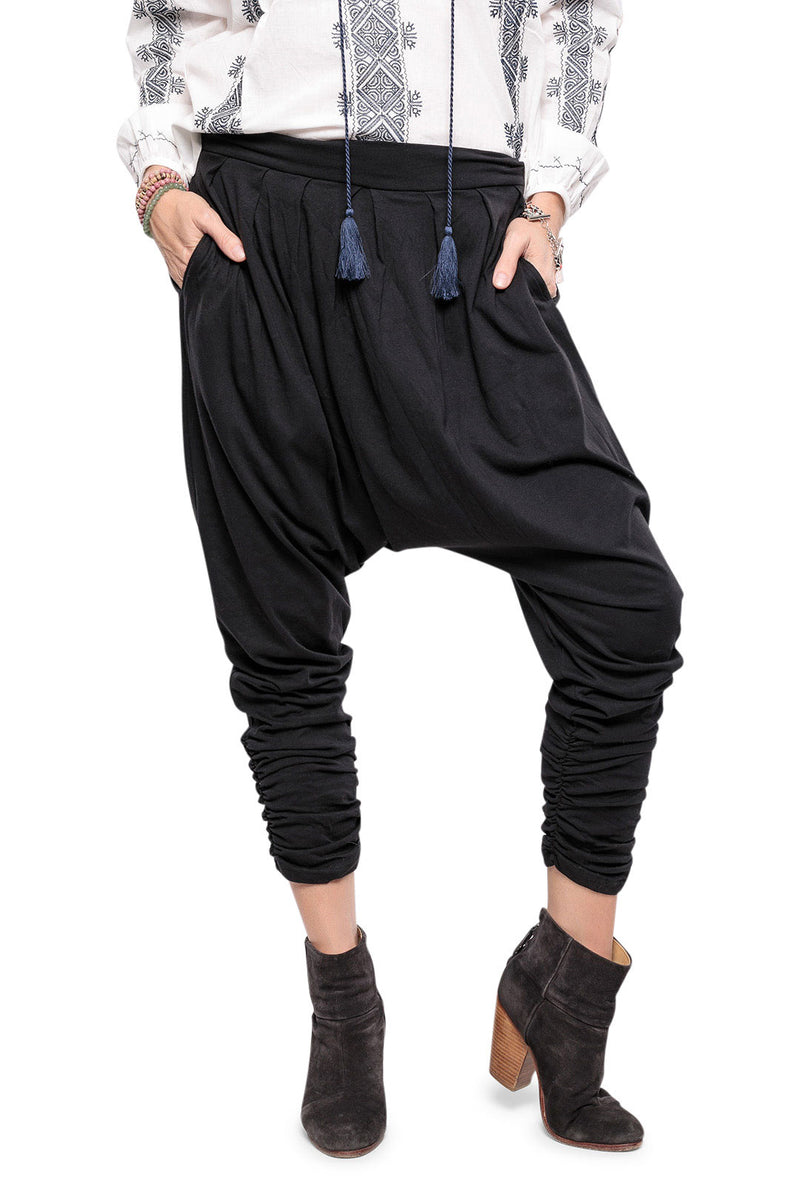 Basic Jersey Harem Pants