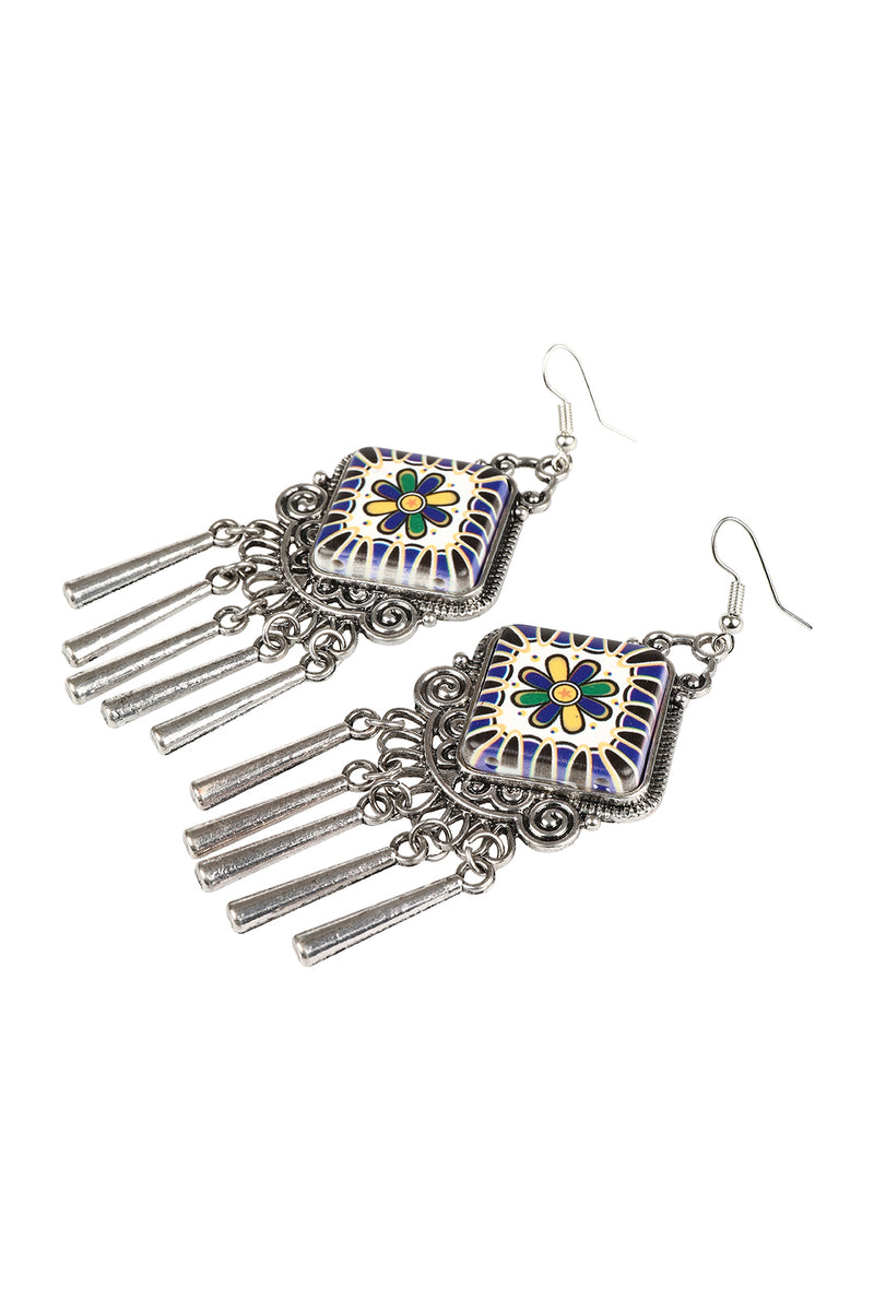 Painted Nomad Statement Earrings