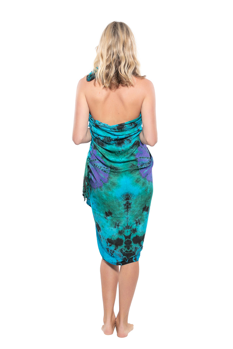 Patterned Tie Dye Sarong