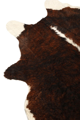Assorted Brown & White Cow Hide Rug