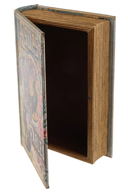 ISHKA Wooden Book Box - Small