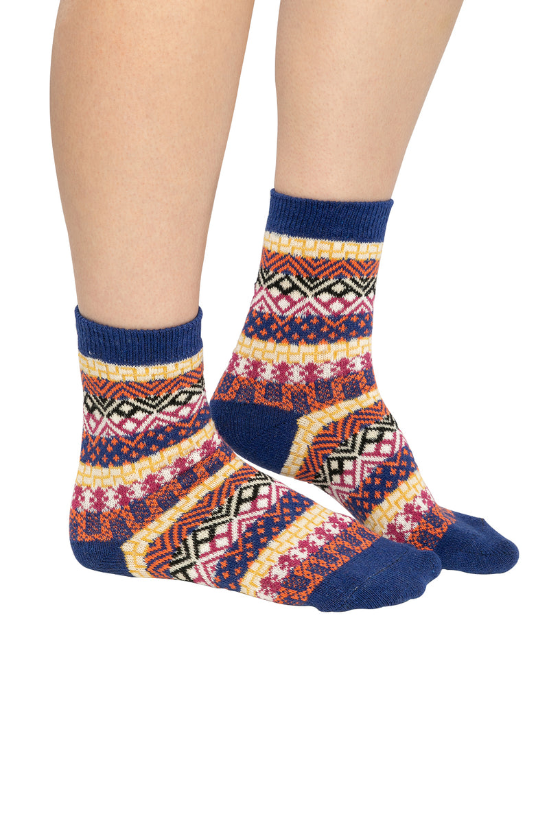 Assorted Mixed Maze Womens Pattern Socks