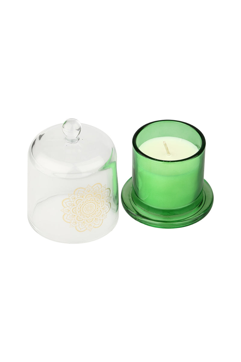 Small Glass Dome Candle