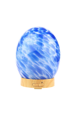 Blue Glass Egg Electric Diffuser