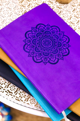 Soft PU B5 Mandala Notebook