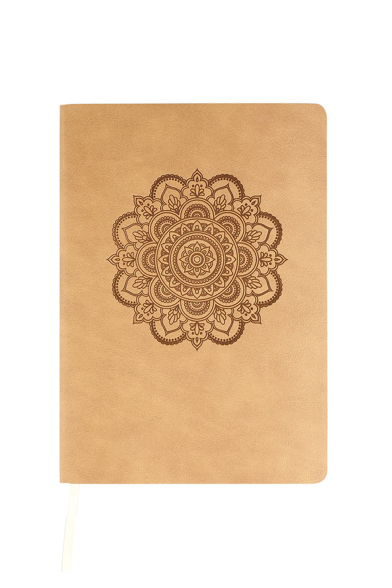 Mandala Soft PU Notebook