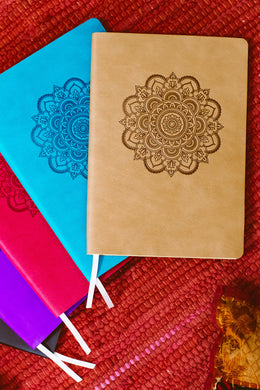 Mandala Camel B5 PU Soft Notebook