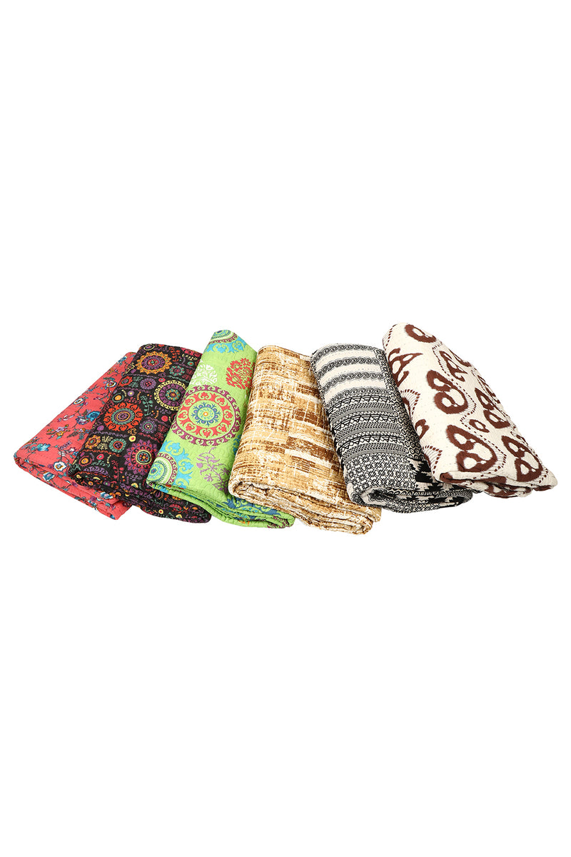 Assorted Printed Tagai Bedspread