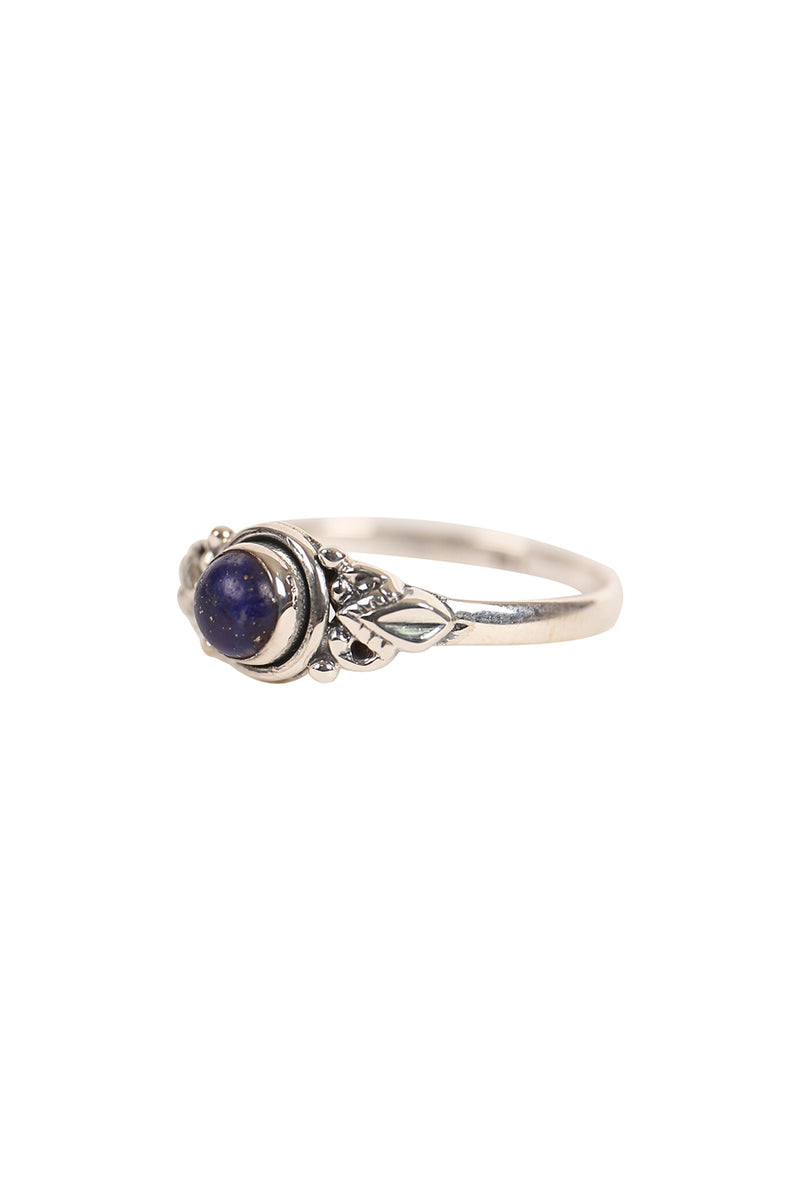 Tribal Swirl Silver Ring