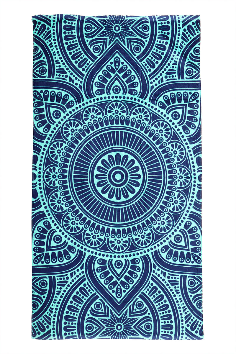Imagine India Beach Towel