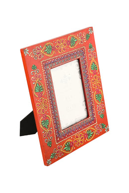 Red Bhoot Photo Frame