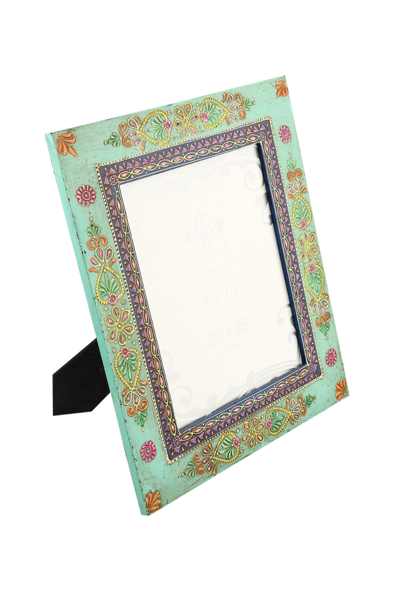 Large Blue Bhoot Photo Frame