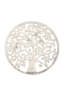 Round Frame Tree of Life Wall Art