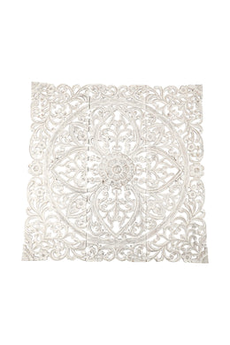 Whitewash Mandala Wall Art Set of 3
