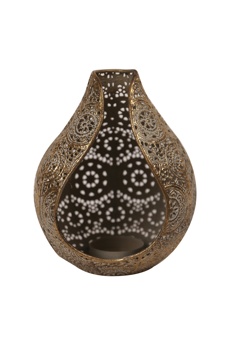 Open Teardrop Lantern Candle Holder
