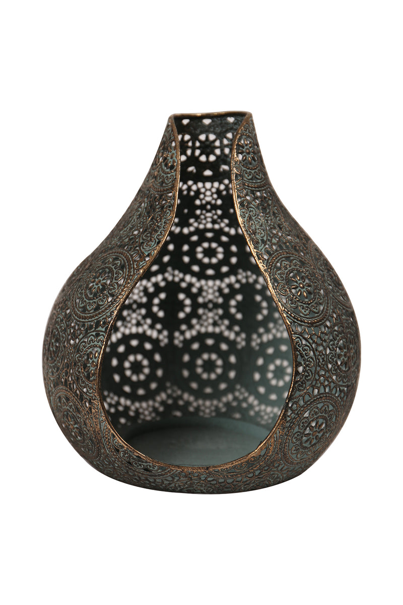 Open Teardrop Candle Holder