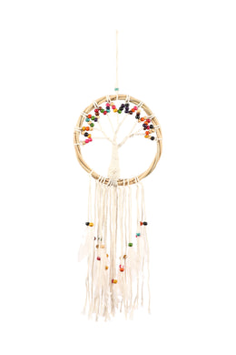 Rattan Feather Tree of Life Dream Catcher