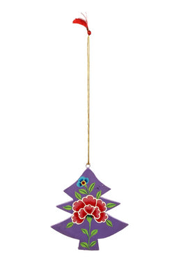 Peony Xmas Tree Decoration