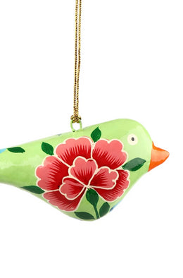 Peony Bird Decoration