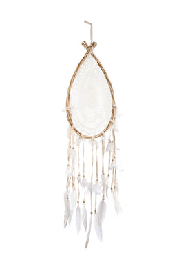 Crochet Teardrop Dreamcatcher