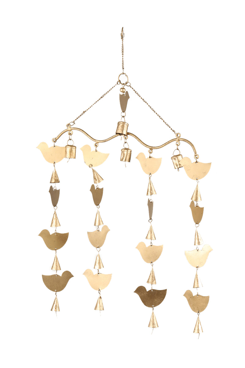 Handcrafted Bird Wind Chime