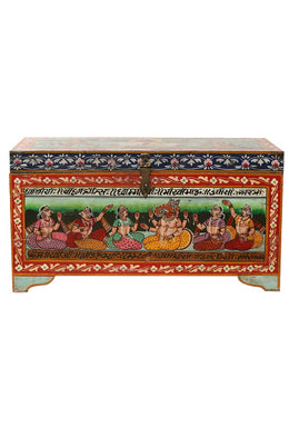 Folk Art Painted Chest