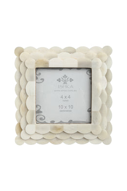 Bone Leaf Photo Frame