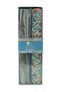 Peacock Blue Incense Gift Set