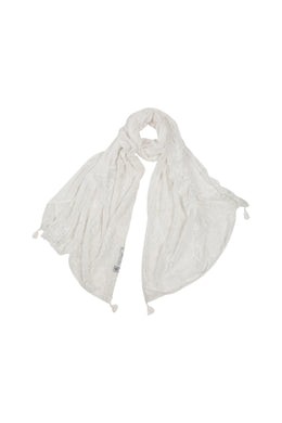 Diagonal Slice Lace Scarf