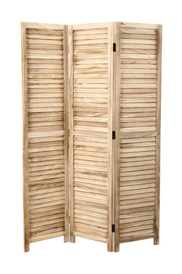 Monsoon Natural 3 Panel Screen