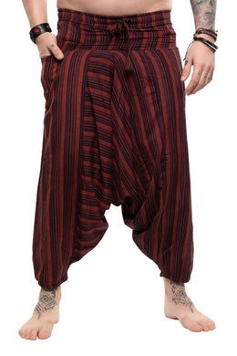 Stripe Harem Pants