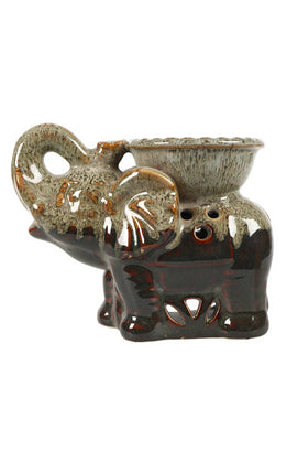Ceramic Elephant Oil Burner