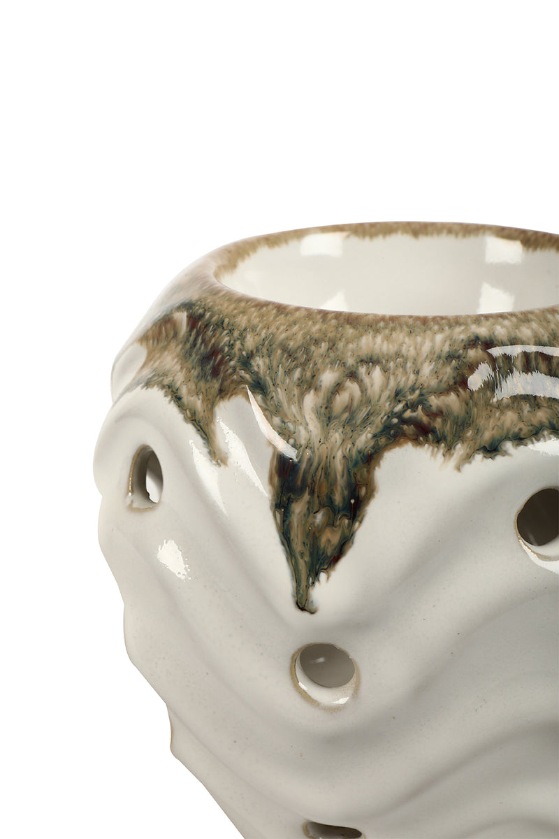 Ceramic Waves Oil Burner