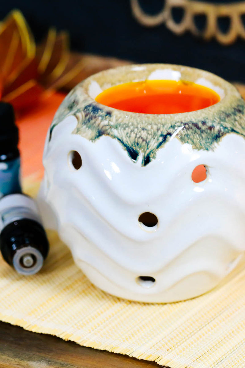 Assorted Ceramic Waves Oil Burner
