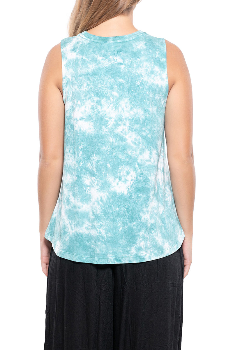 Gypsy Dreamcatcher Tie-Dye Tank Top