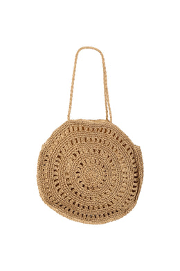 Large Crochet Circle Bag