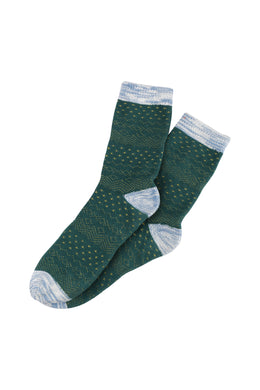 Aztec Snowy Mens Socks