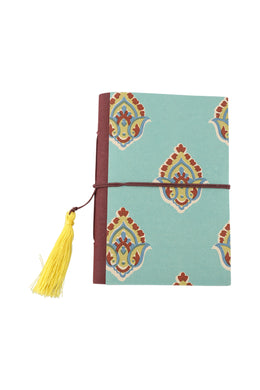Flower Print Tassel Journal