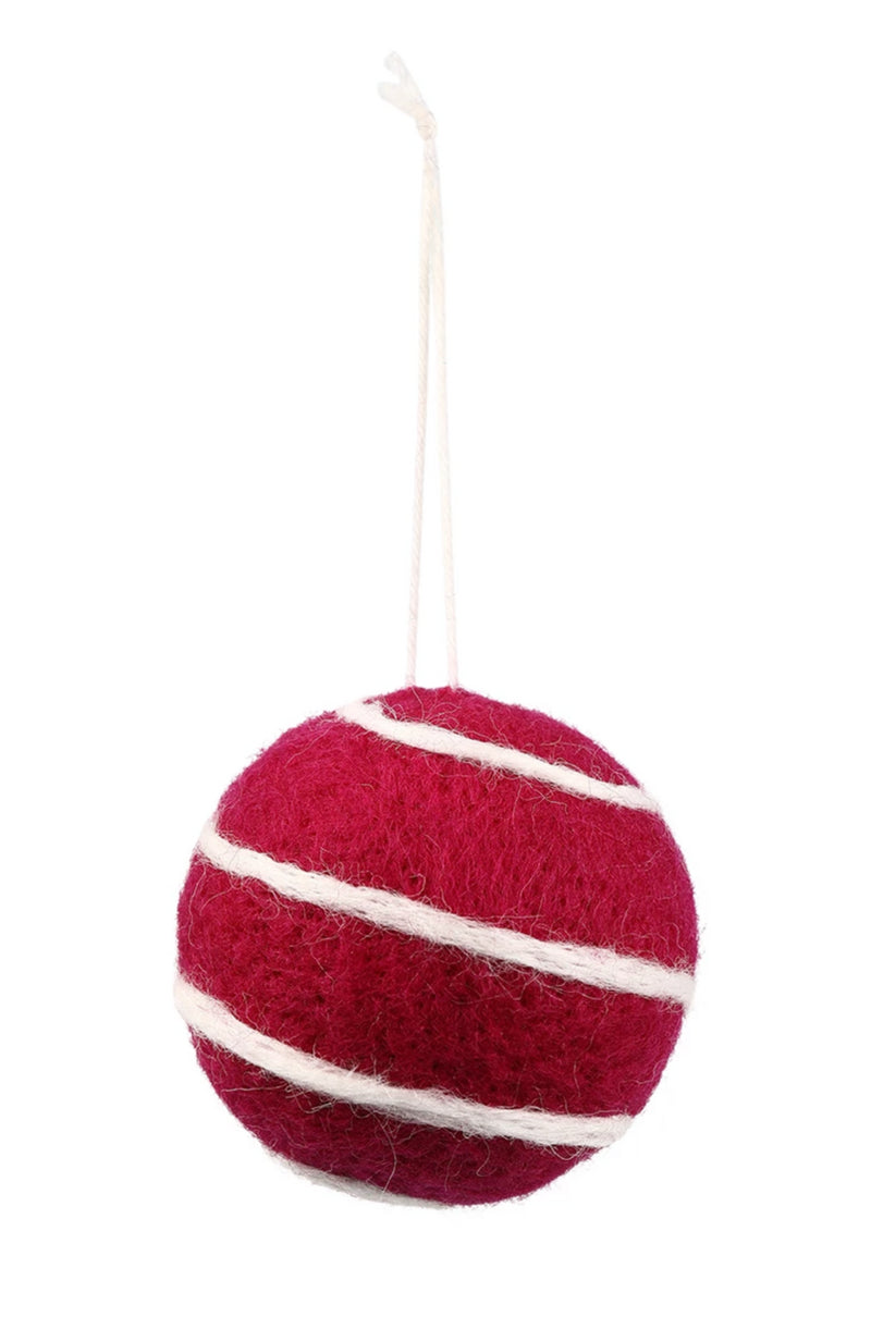 Wool Ball Hanging Decoration