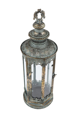Antique Brass Metal Lantern