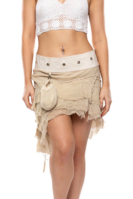 Frill Festival Mini Skirt