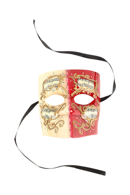 Venetian Musical Pointed Mask