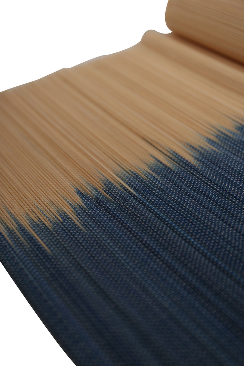 Dip-Dyed Bamboo Table Runner