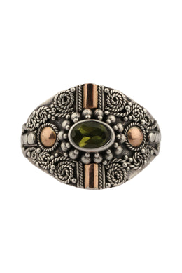 Assorted Ornate Tribal Detail Silver Ring