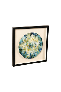 Gemstone Slice Framed Art Print