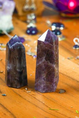 Small Gemstone Tower 6-9cm