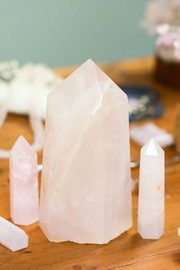Large Gemstone Tower Over 11cm