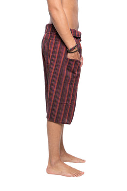 Assorted Striped Fisherman Shorts