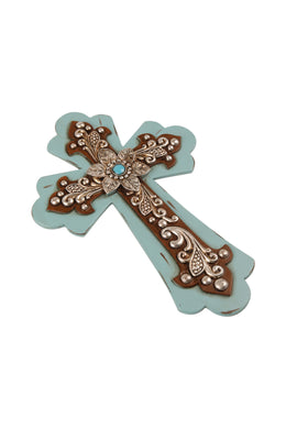 Floral Cross Wall Art
